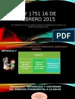 Ley 1751 16 de Febrero 2015 Corregida