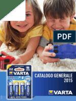 Catalogo VARTA Generale