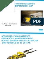 Capacitacion Jumbos Hidraulicos 2016