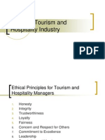 Ch.7 Ethics in Tourism and Hospitality Industry