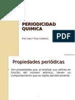 Periodicidad de a Tabla Periodica