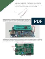Gravando PIC com PicBurner K150 no modo ICSP
