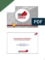 [02] QuaSftw - Introdução à Qualidade de Software