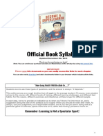 Course Syl Lab Us for Super Learner Book
