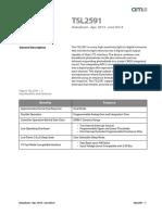 TSL25911 Datasheet en v1