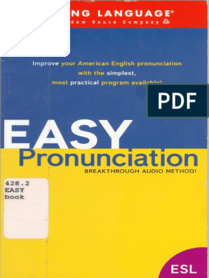 Living Language Easy Pronunciation 35p Pdf