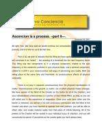 Ascencion is a Process 02