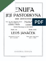 Janacek - Jenufa vs (Act I)