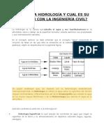 2. La Hidrología y La Ingeniería Civil