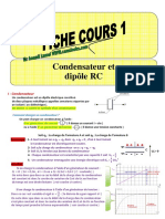 Condensateur Et Dipole RC