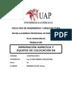 imprimación asfáltica