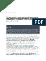 Dioeléctrico 700 MHz en Implementación Del LTE en América Latina