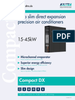 Compact direct expansion precision cooling system