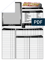 Interactive Mekton Character Sheet