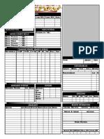 Interactive Mekton Mek Sheet