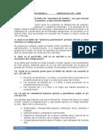 Cuestionario Derecho Penal Boliviano Articulos 145