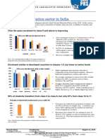 Overview of Education Sector in India