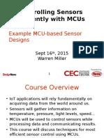 CEC Sensors