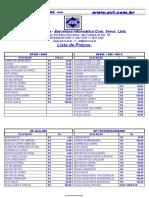 Tabela Onde Conseguir Peças Para Impressoras