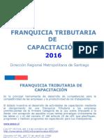 Planificación y Gestión en El Uso de Franquicia Tributaria