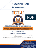 ICT U Application Form 1