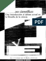 Realismo Científico-Debate Actual en La Filosofía de La Ciencia-1998-A. Diéguez Lucena-Libro