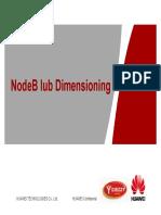 NodeB Iub Dimensioning V2-20130522