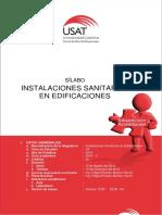 Sillabus 2016 - II Instalaciones Sanitarias en Edificaciones