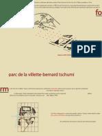 Superimposition Bernard Tschumi