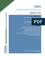 044 Hipertensao Arterial Sistemica 07082014