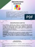 Orientacion de Discapacidad Auditiva.