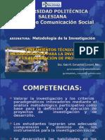 1asignatura Metodología de La Investigación 2016-1