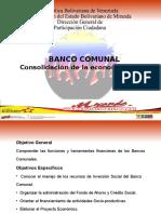 Taller Banco Comunal