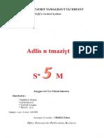 Manuel Scolaire Tamazight -Algérie - 5-Annee-primaire