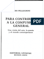 Aldo Pellegrini- Para Contribuir a La Confusion General