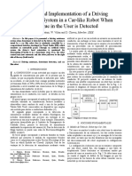 Design and Implementation of a Driving