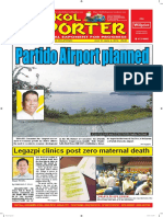 Bikol Reporter July 31 - August 6, 2016 Issue