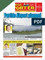 Bikol Reporter July 31 - August 6, 2016 Issue