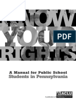 ACLU Student Rights