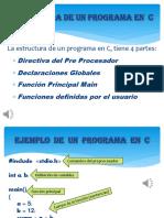 Partes de Un Programa en Lenguaje C