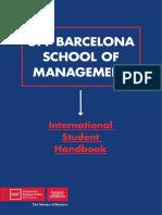 2015 BSM International Student Handbook
