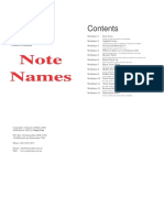 Note Names