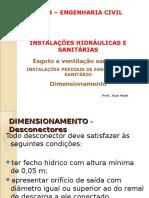 Aula 15 Sanitárias Dimensionamento
