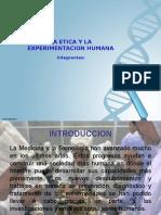 La Etica y La Experimentacion Humana (1)