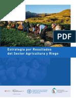 Estrategia por Resultados del Sector Agricultura y Riego