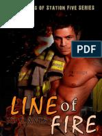 Jo Davis - Saga Firefighters of Station Five - 04 - Line of Fire