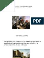 Presentación. Tema Revolución Francesa.