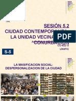 Sesión 5.2- La Unidad Vecinal y La Conurbación