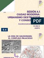 Sesión 4.1- Urbanismo Destructor y Conservador
