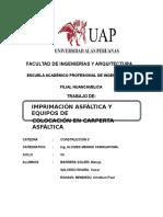 Wº Monografico Imprimación Asfáltica